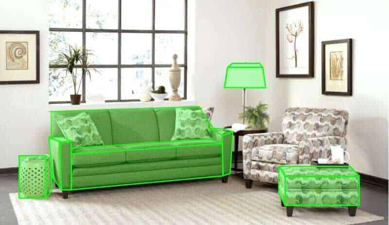 precise-segmentation-indoor-objects
